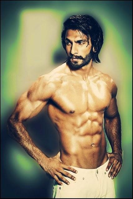 Ranveer Singh Shirtless