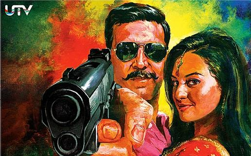Top 10 Highest Grossing Movies Of Akshay Kumar - Rowdy Rathore at the third position