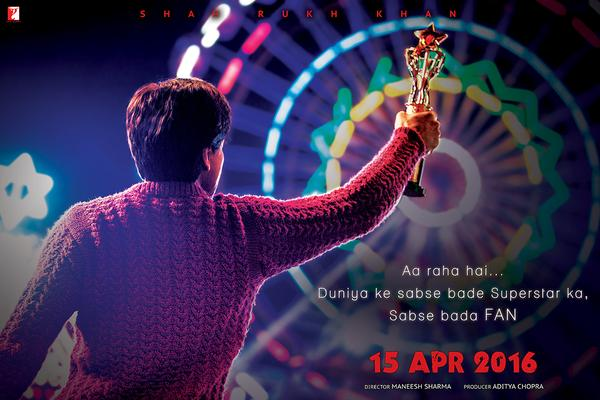 SRK's Fan Teaser Poster Is Here And We Can Already Feel The Stardom