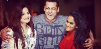 Salman with Alvira and Arpita