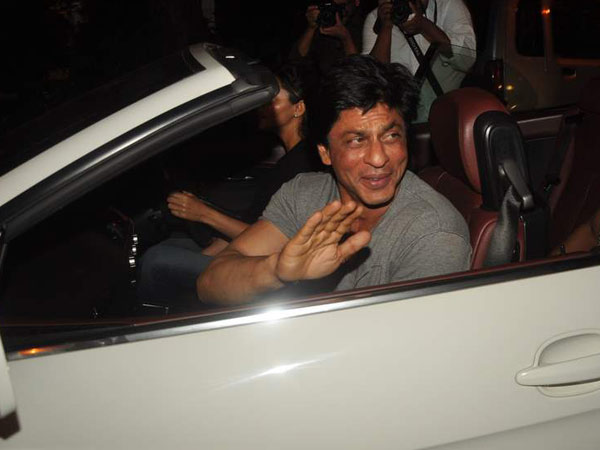 10 Celebrities who own EXORBITANT LUXURY RIDES-Shahrukh Khan