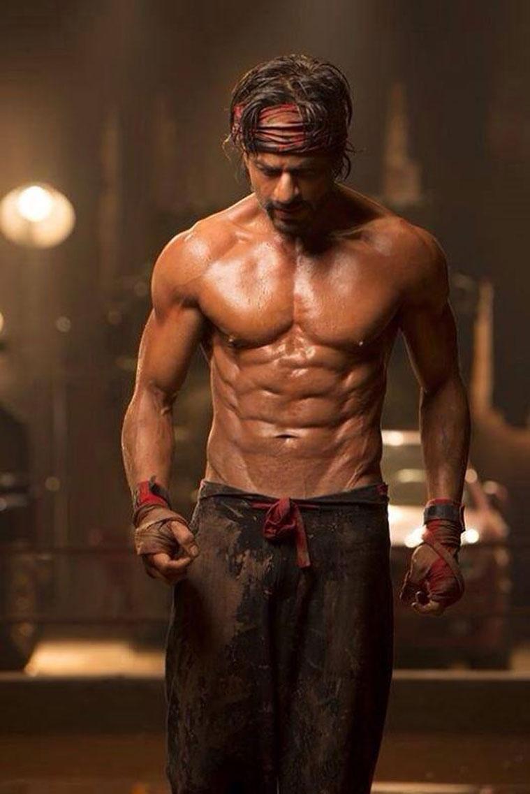 Shahrukh Khan Shirtless