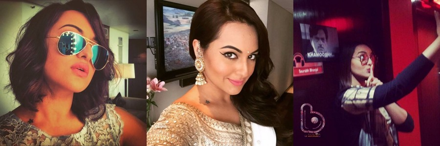 Happy Birthday Sonakshi Sinha: These Selfies Proves That Sonakshi Sinha Is The Selfie Queen Of Bollywood