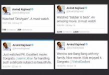 Arvind Kejriwal Trolled On Twitter In Bollywood
