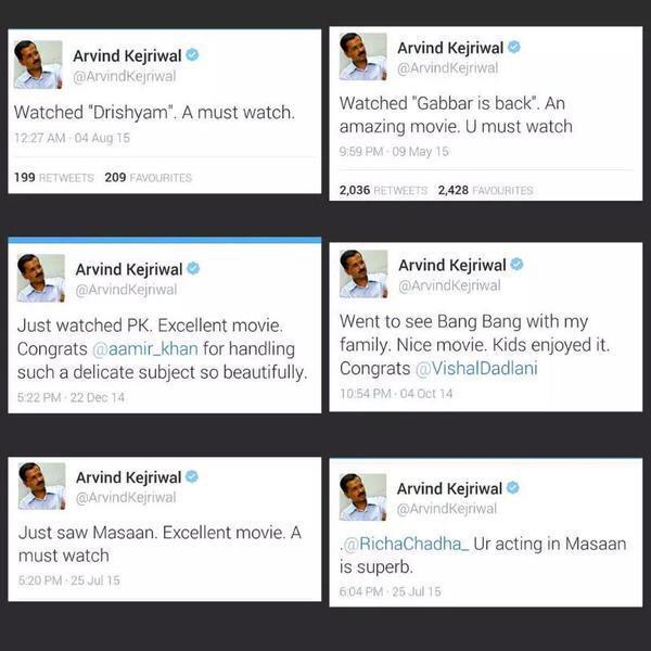 Arvind Kejriwal Trolled On Twitter In Bollywood
