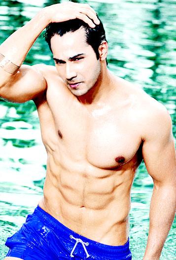 Varun Dhwan Shirtless