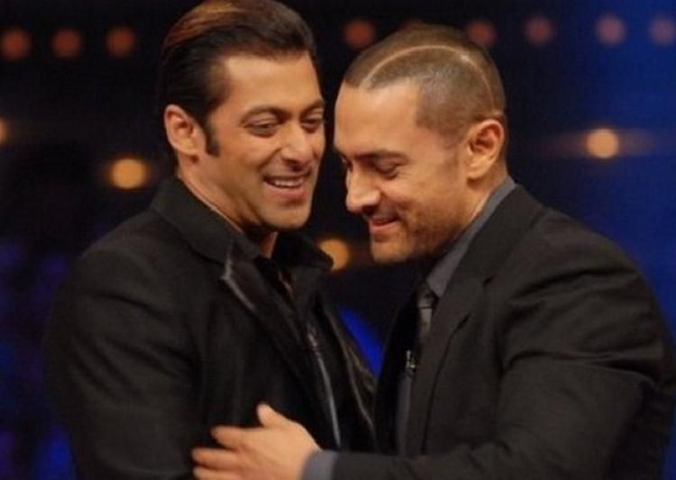 aamir and salman - best real life friends of Bollywood