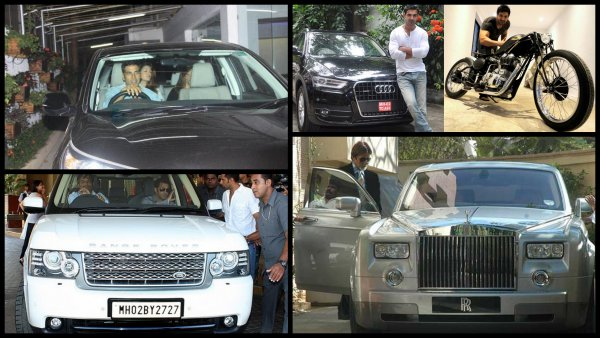 Bollywood Stars And Their Luxury Cars: We Can Only Dream About Them