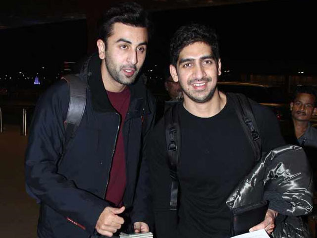 Best Friends Of Bollywood - ranbir and ayan