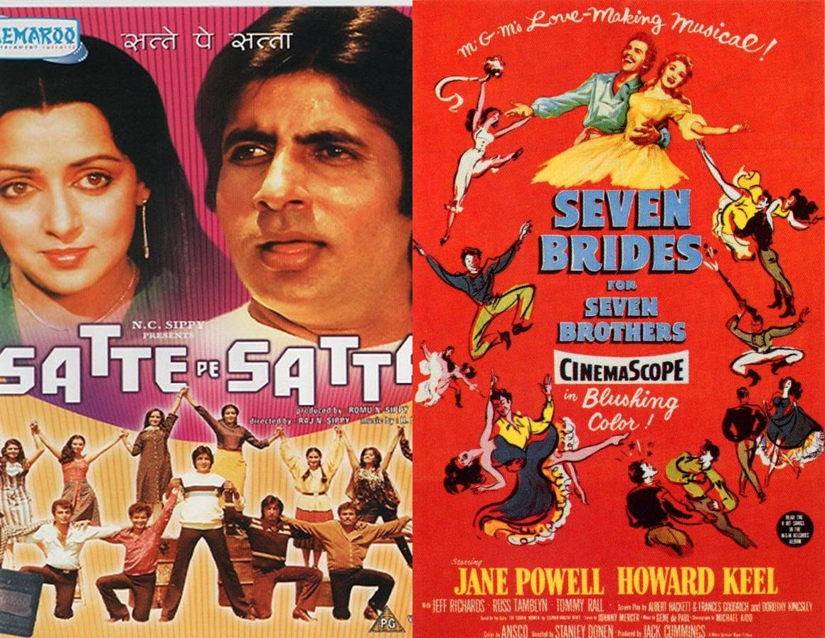 Satte Pe Satta Is a copy of Seven brides and seven brothers