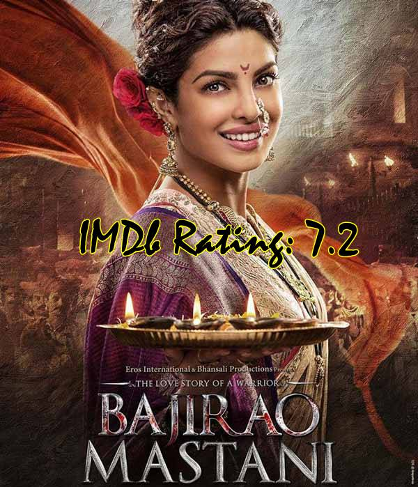 10 Best Movies Of Priyanka Chopra - Bajirao Mastani