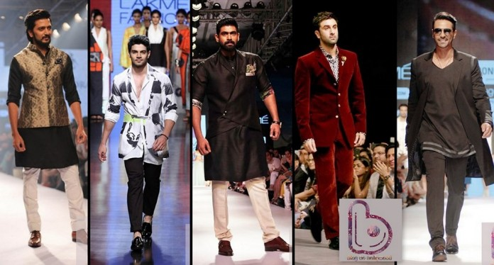 Bollywood actors at LFW 2015