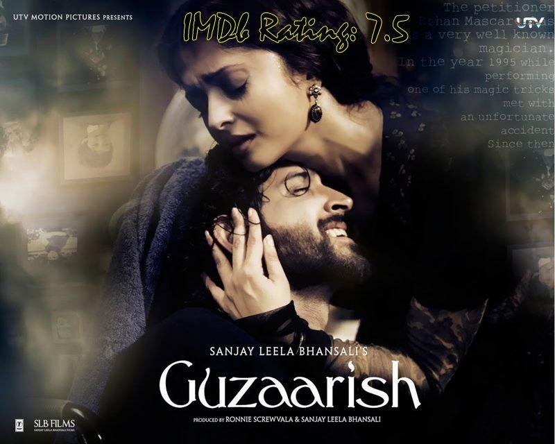 10 Best Movies Of Hrithik Roshan- Guzaarish