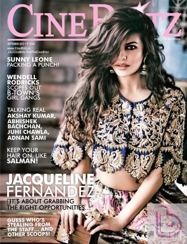 Jaqueline graces CineBlitz cover this month!