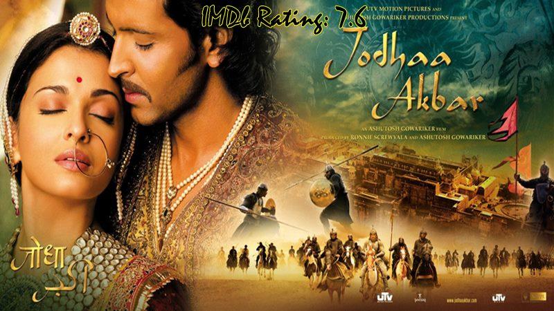 10 Top IMDb-Rated Movies of Hrithik Roshan- Jodhaa Akbar