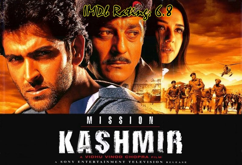 10 Top IMDb-Rated Movies of Hrithik Roshan- Mission Kashmir