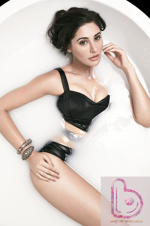 Nargis Fakhri Hot Pics - Bubble Bath
