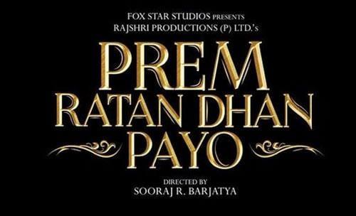 Prem Ratan Dhan Payo Logo
