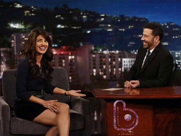 Priyanka Chopra appears on Jimmy Kimmel Live!!