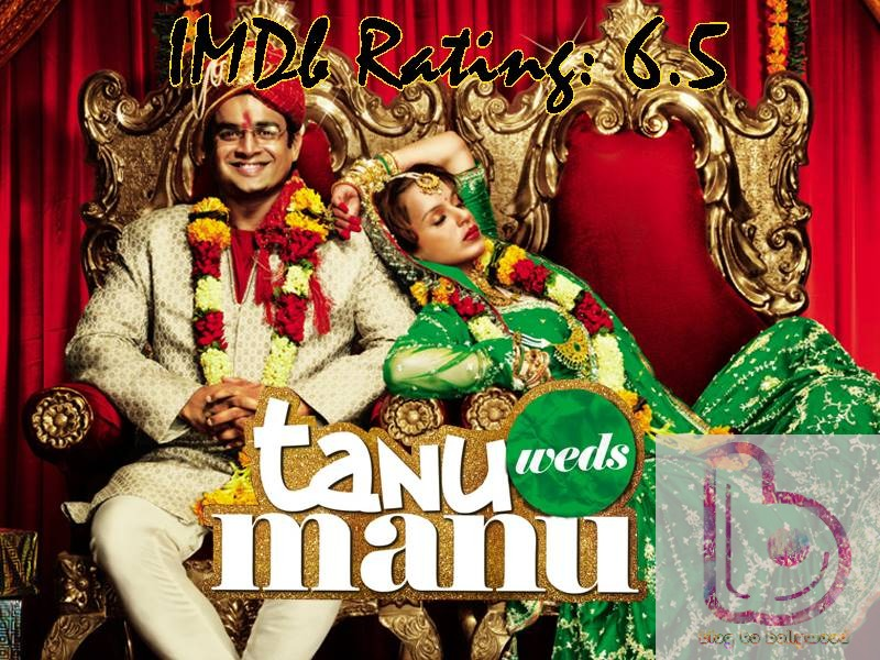 10 Top IMDb-Rated Movies of Kangana Ranaut- Tanu Weds Manu