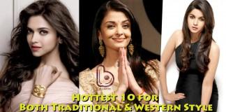 Best Dressed Western and Indian Ladies