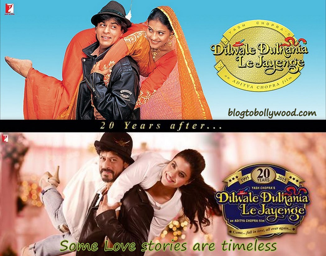 20 Years Of DDLJ, SRK and Kajol are Falling In Love and Holding On To Each Other