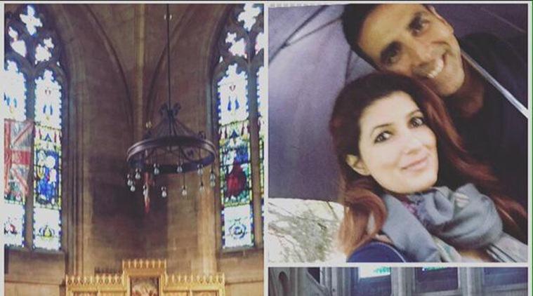 Akshay Kumar's Romantic OffRoad in Norwich : Twinkle's Delight
