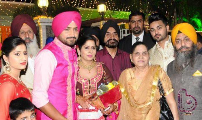 Adorable pics from Harbhajan Singh-Geeta Basra's  Sangeet & Mehendi Ceremony!