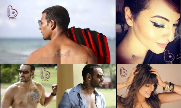 Bollywood Celebs And Their Awesome Tattoos!
