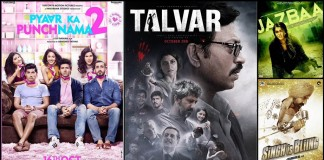 Box Office | Pyaar Ka Punchnama 2 and Talvar Are Super Hit, Jazbaa Average