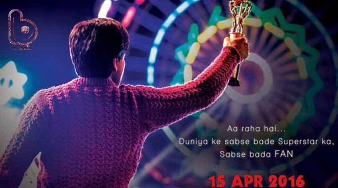 New Poster of Shah Rukh Khan's 'Fan' is out!