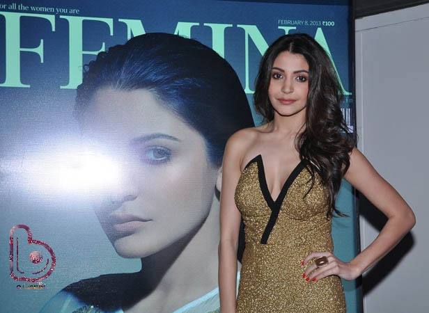 Anushka Sharma taking over the world in Femina Cover!