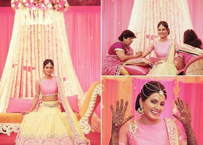 Adorable pics from Harbhajan Singh-Geeta Basra's Sangeet & Mehendi Ceremony!- geeta