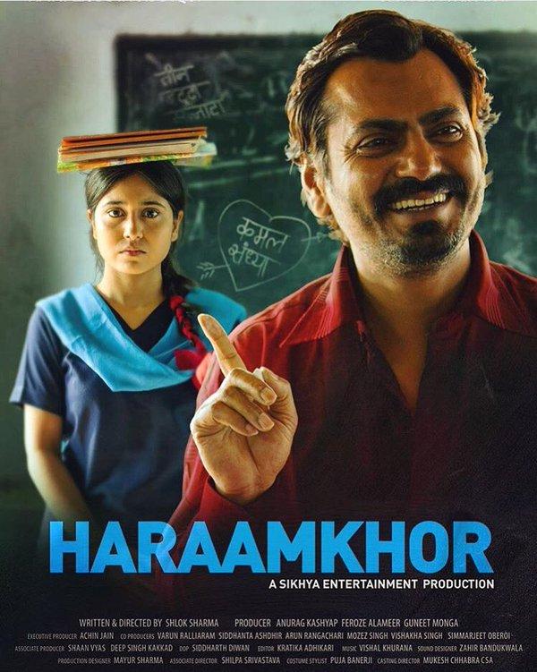 First Look Poster | Nawazuddin Siddiqui's 'Haraamkhor'