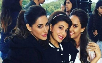 Jacqueline Fernandez chilling on the sets of Housefull 3 & we are getting jealous!