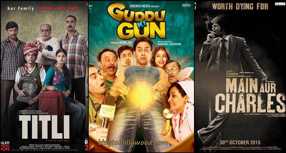 Box Office Prediction | 'Main Aur Charles', 'Titli' and 'Guddu Ki Gun'