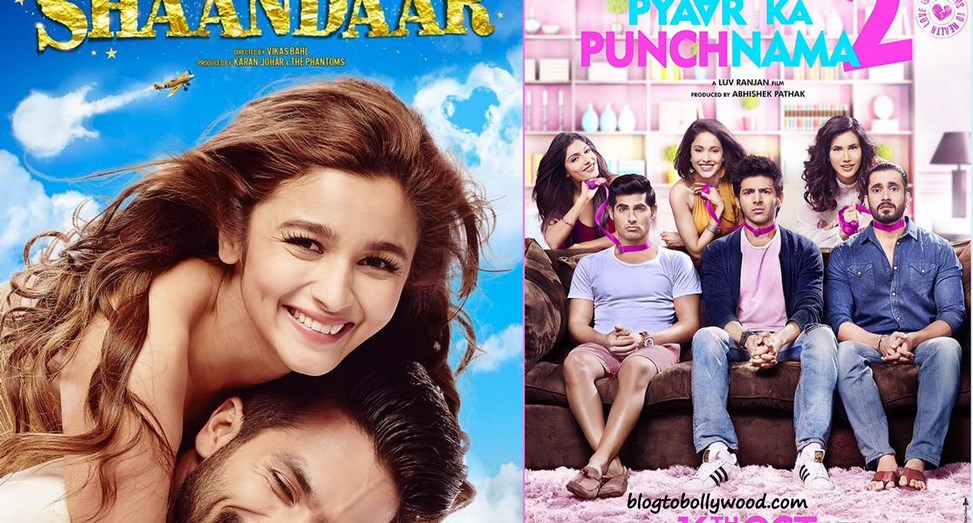 Box Office Report| Pyaar Ka Punchnama 2 crosses 50 crores, Shaandaar Flat at the Box Office