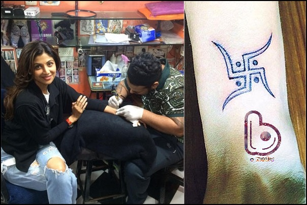 Bollywood Celebs and their Awesome Tattoos!- Shilpa
