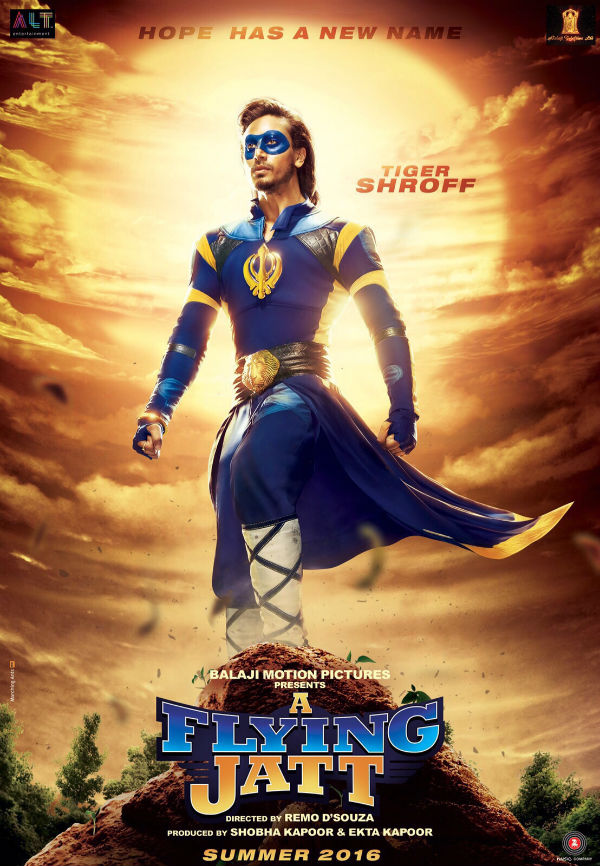 Tiger Shroff's 'A Flying Jatt' Poster Is Out – Welcome The Saviour