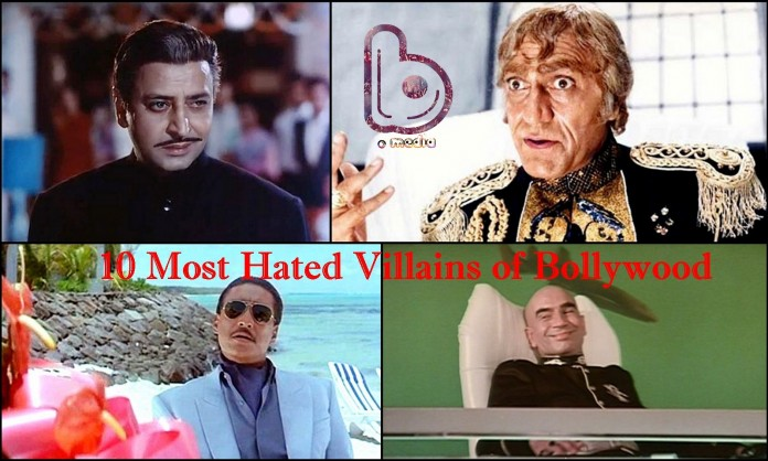 10 Most Hated Villains of Bollywood | Based on 'Evilness'