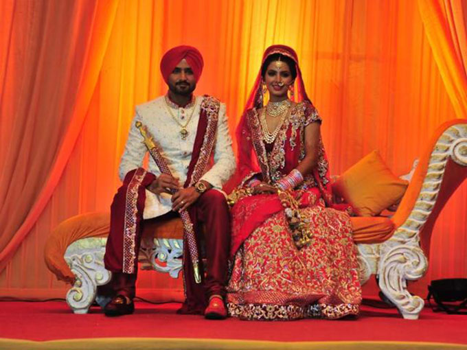 Harbhajan Singh-Geeta Basra are married now! | Pictures Inside