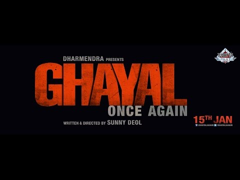 Motion Poster Of Sunny Deol's Ghayal Once Again Unveiled