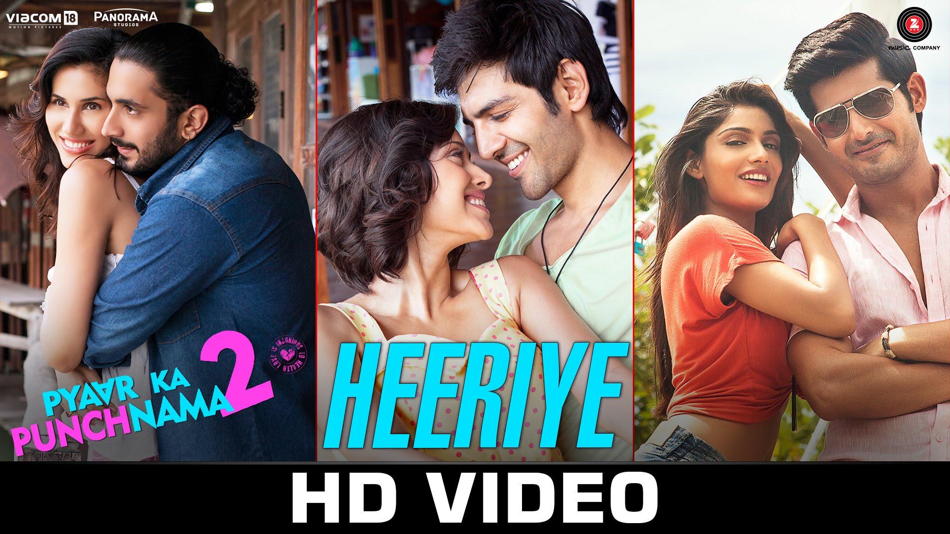 Watch 'Heeriye' from Pyaar Ka Punchnama 2- It's all 'Pyaar-Pyaar'