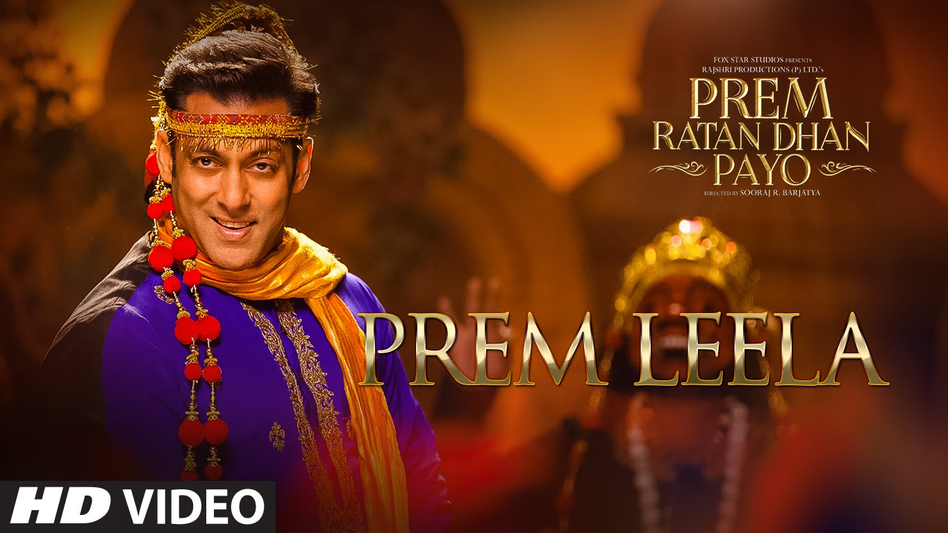 #PremLeela – First song from Prem Ratan Dhan Payo is out!