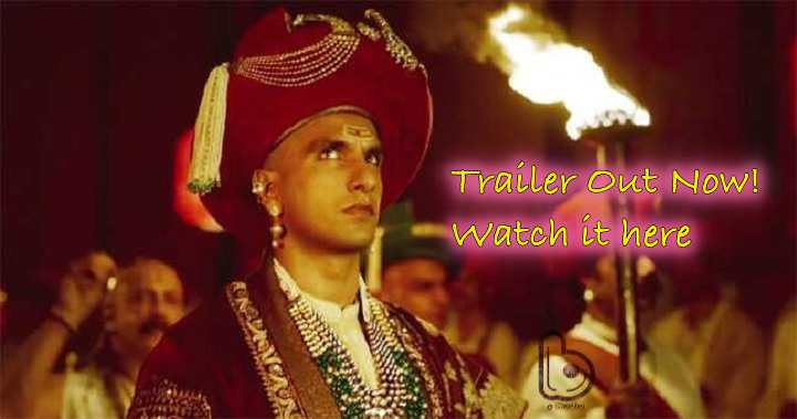 Watch the Grandeur of a magnificent impact – Bajirao Mastani Trailer Out Now