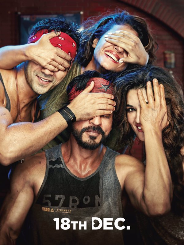 Dilwale First Look Poster is Sweet, Cute and Quirky