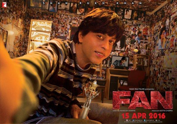 Meet The Biggest Fan of SRK in New Poster of Fan