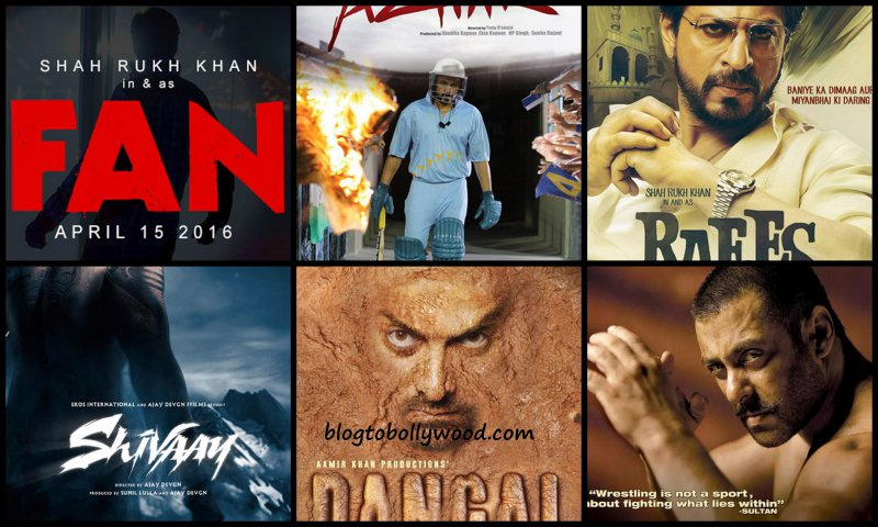 From Sultan to Fan: List of most awaited Bollywood movies of 2016