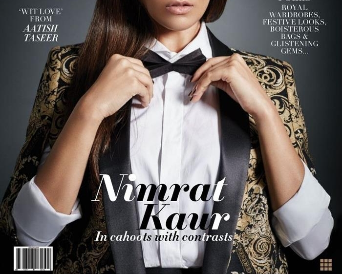 Nimrat Kaur looks like a whole new person in this shoot for L'Officiel India!