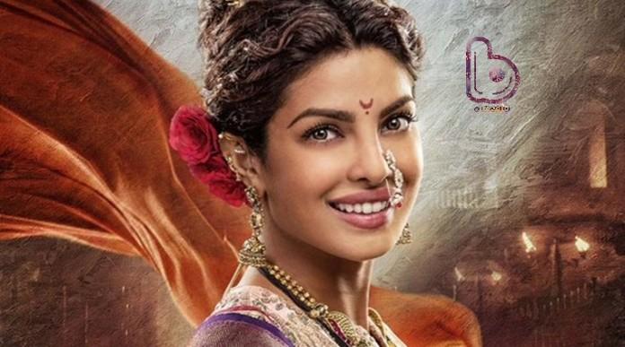 Priyanka Chopra shares the first look of 'Pinga' song from Bajirao Mastani!